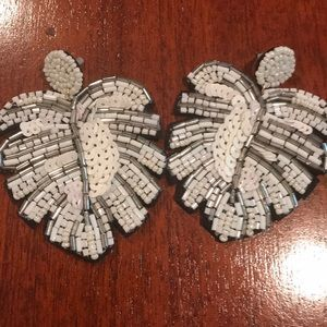 Jewelry - New Palm Beaded Earrings